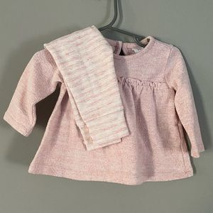Soft Pink Baby Gap outfit